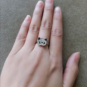 Jewelry - Adjustable Panda 🐼 Ring